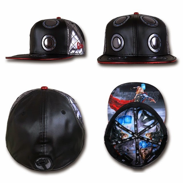 Marvel's Avengers Age of Ultron Armor 59Fifty Cap Collection by New Era - Thor