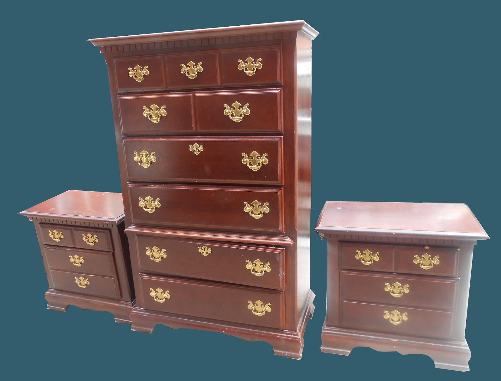 Uhuru furniture amp collectibles federal style chest accented in dental crown molding sold
