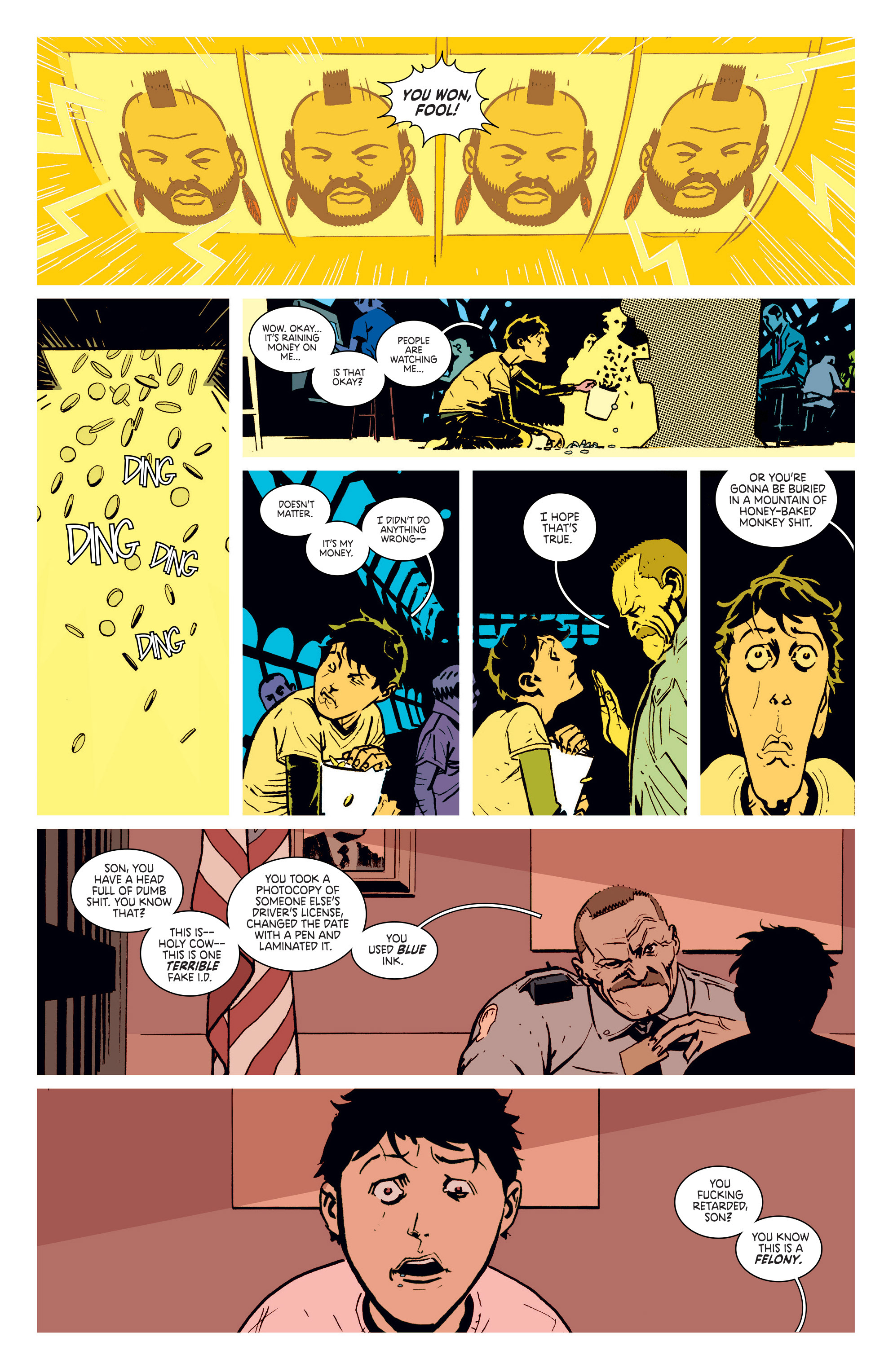 Read online Deadly Class comic -  Issue #5 - 12