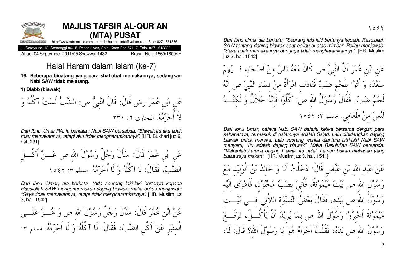 110904 Halal Haram Dalam Islam 7