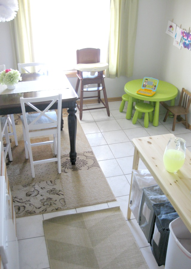 dining room kids space