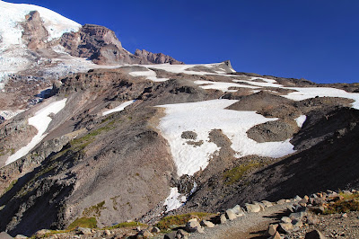View from Skyline Trail Toward Muir Snowfield