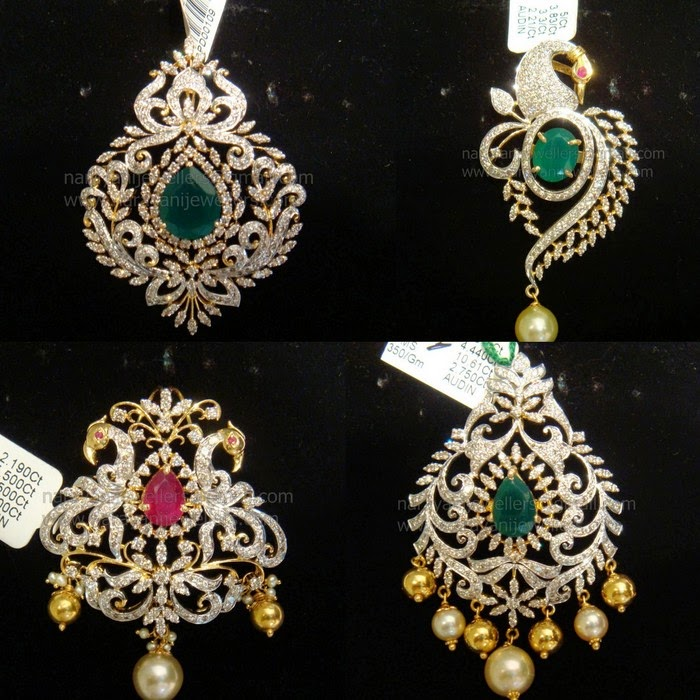 Diamond Pendants by Narayani Jewellers