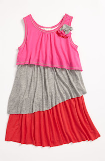 Vanilla Pink Little girl multi colors frocks