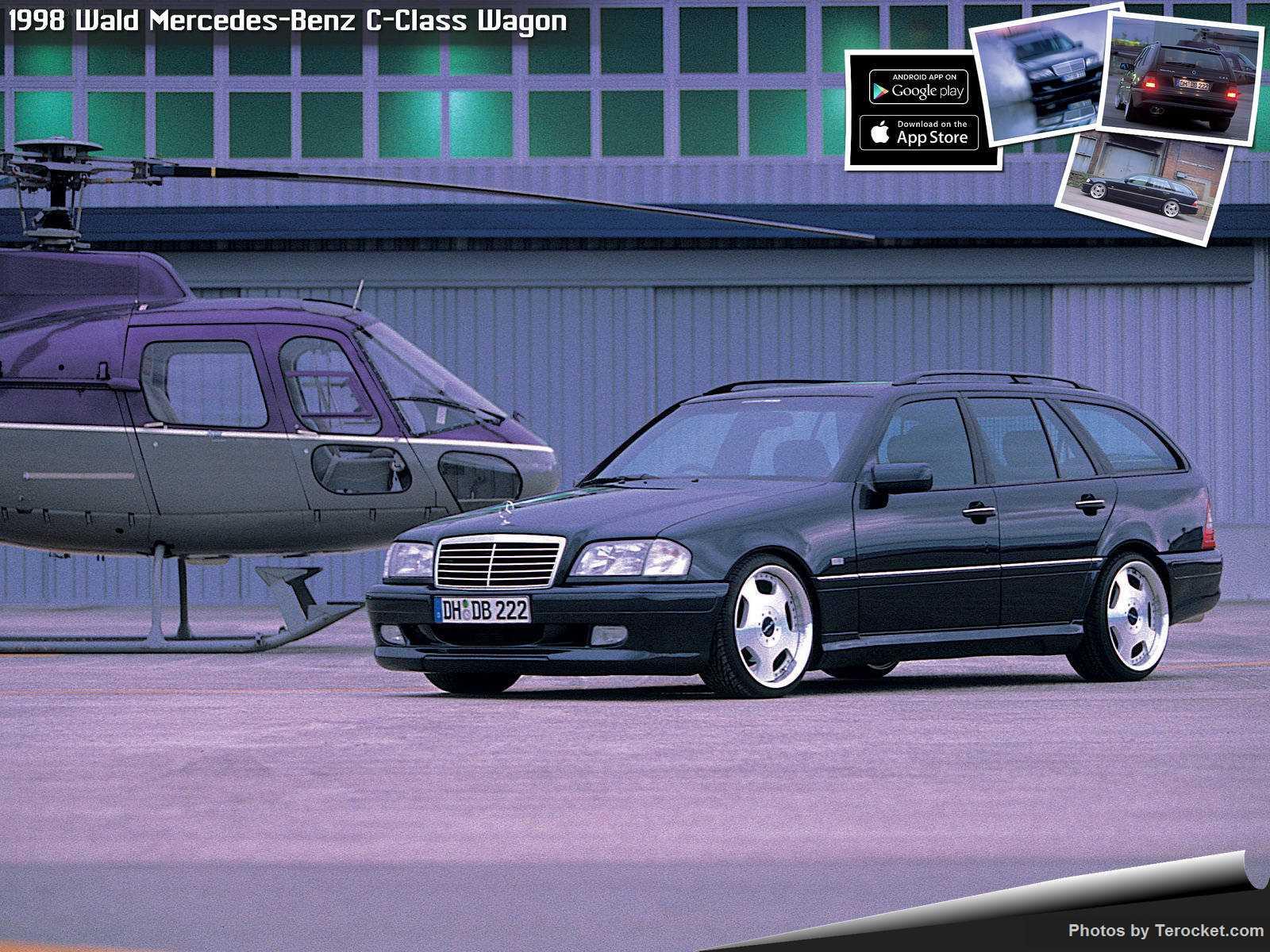 Hình ảnh xe độ Wald Mercedes-Benz C-Class Wagon 1998 & nội ngoại thất