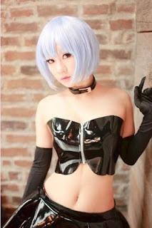 Ayanami Rei  Cosplay by Koyuki