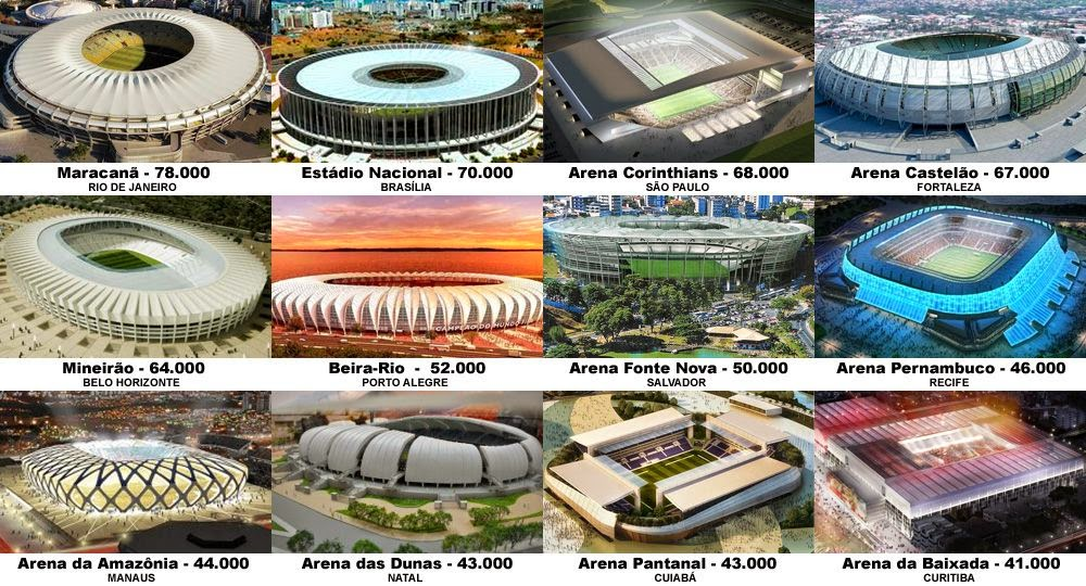 World Cup 2014 Brazil most expensive stadium has a leaking roof