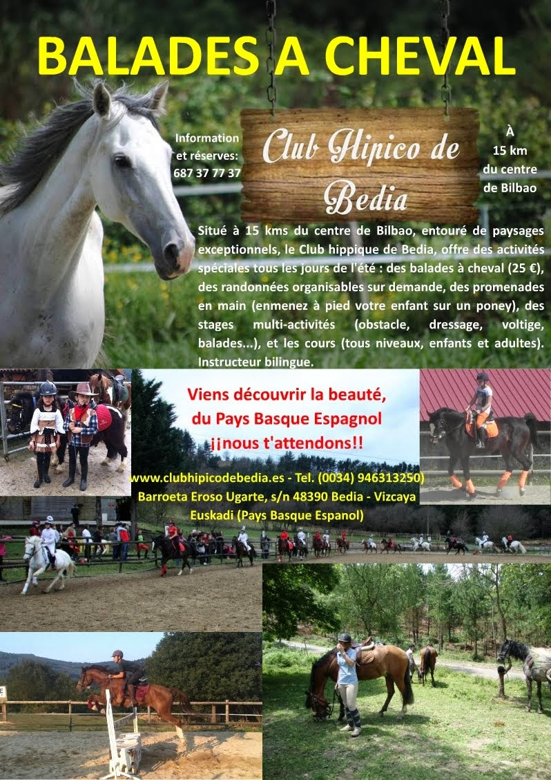 Recommandé: Équitation en Bedia (Vizcaya; Espagne)