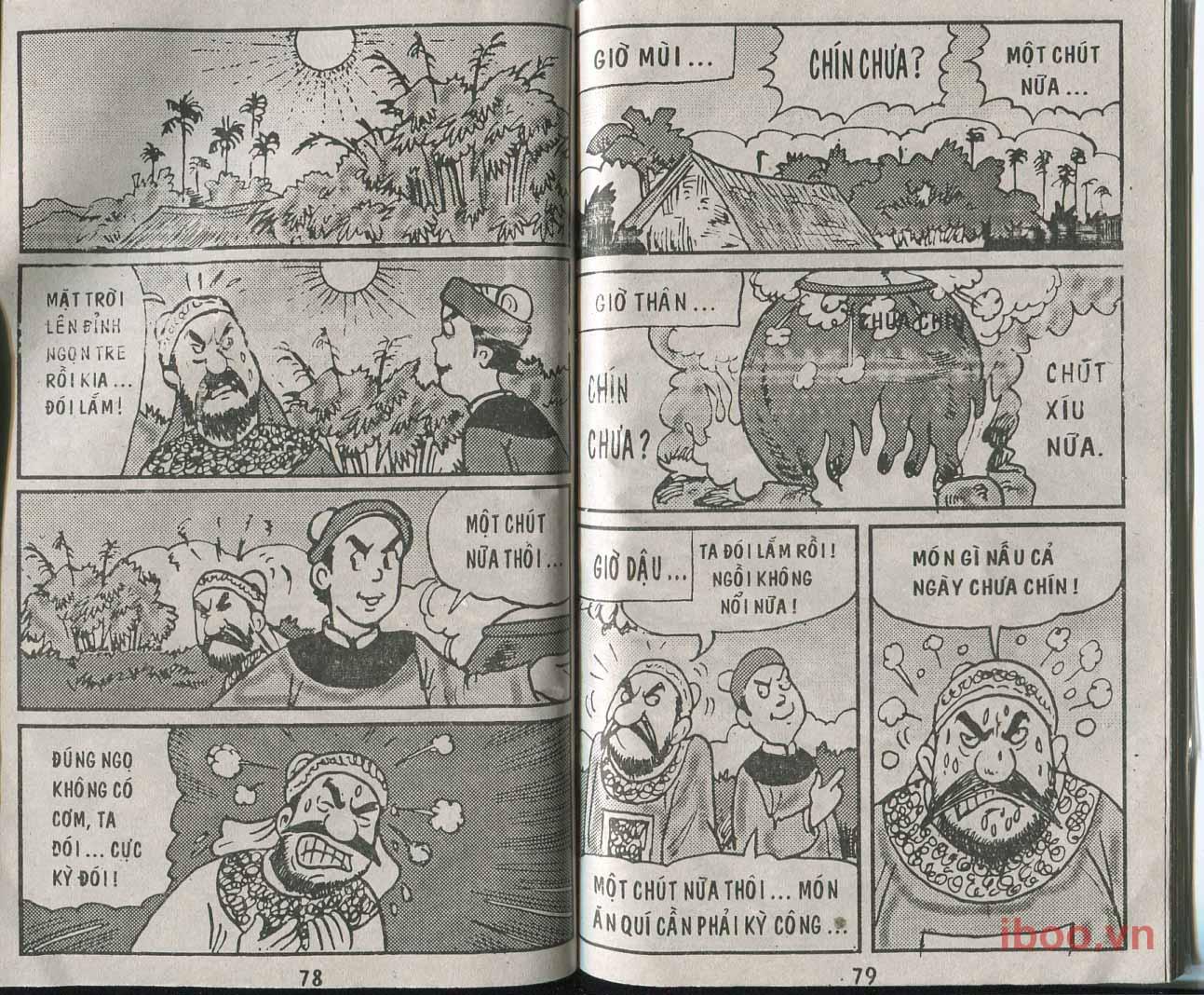 Trạng Quỷnh Tập 12: Món mầm đá