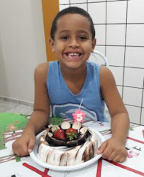Meu príncipe com 5 anos...