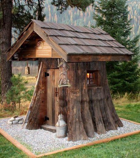 Les mondes d 39 alex maisons fantastiques - Maison de hobbit en france ...