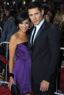 Alex Meraz & His Wife 2012