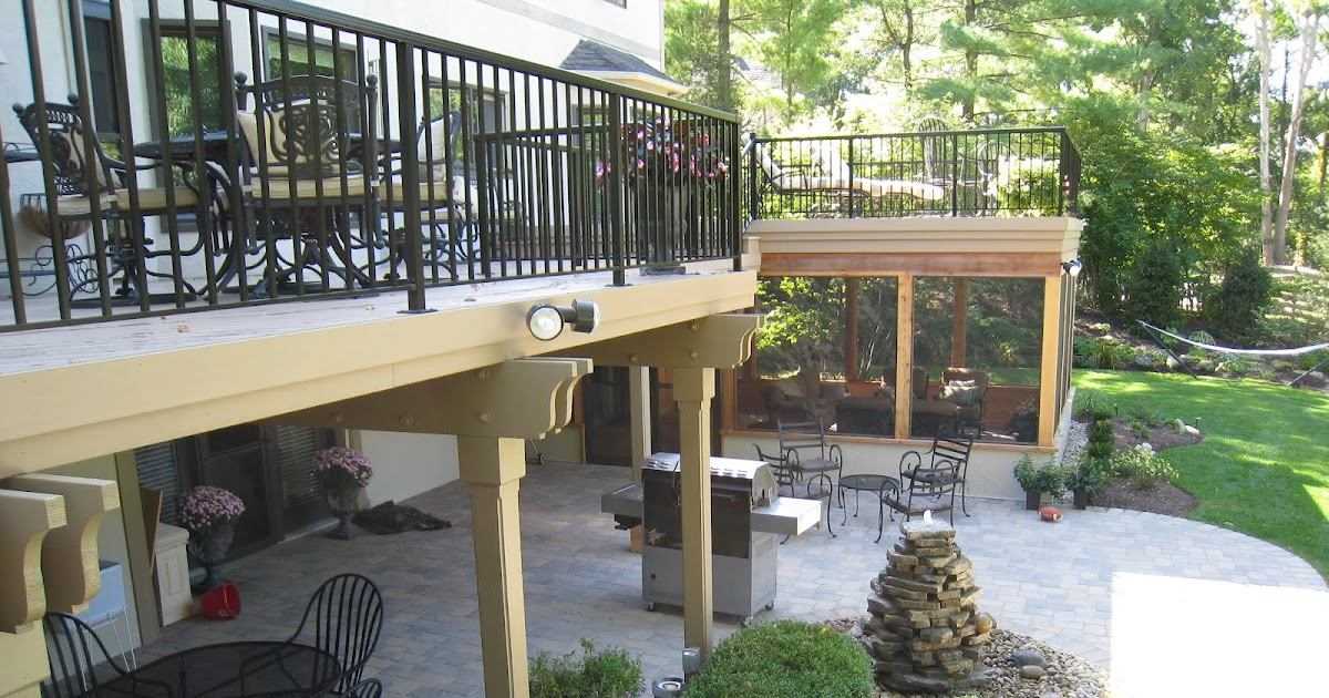 Archadeck Of Nova Scotia Custom Decks Patios Screened Porches Sunrooms In Halifax Plan