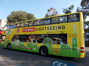 """""""Vienna Hop-On Hop-Off Tour Bus""""."""