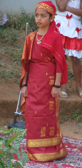 Kodava lady fancy dress idea