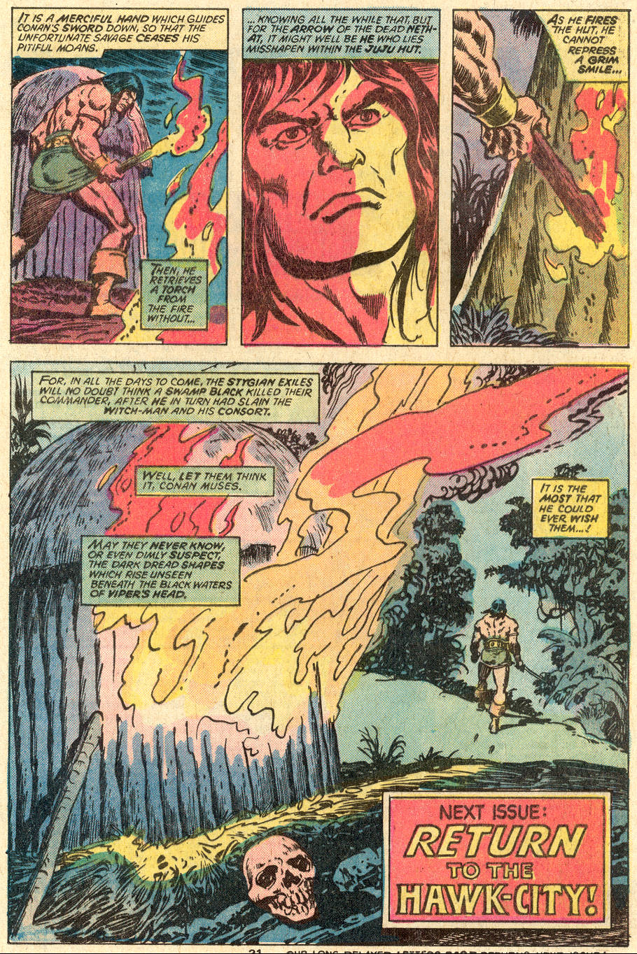Conan the Barbarian (1970) Issue #83 #95 - English 20