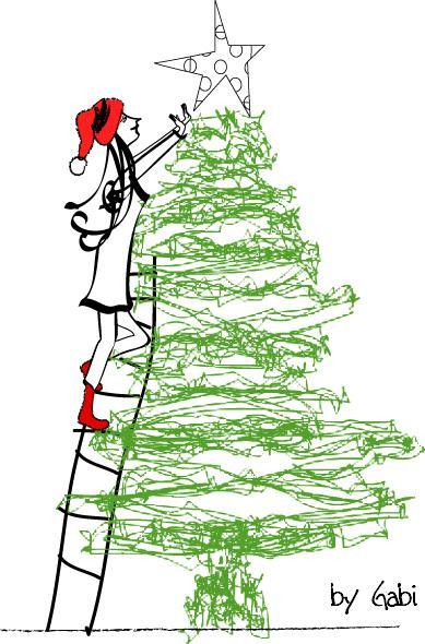 La Chacha Dot Com: Cosas lindas para el arbol de Navidad