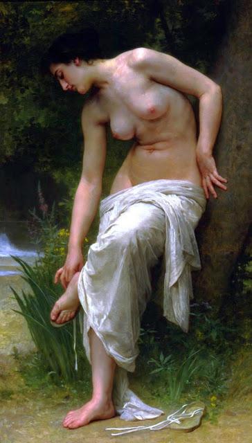 cute girl,art history,Bouguereau