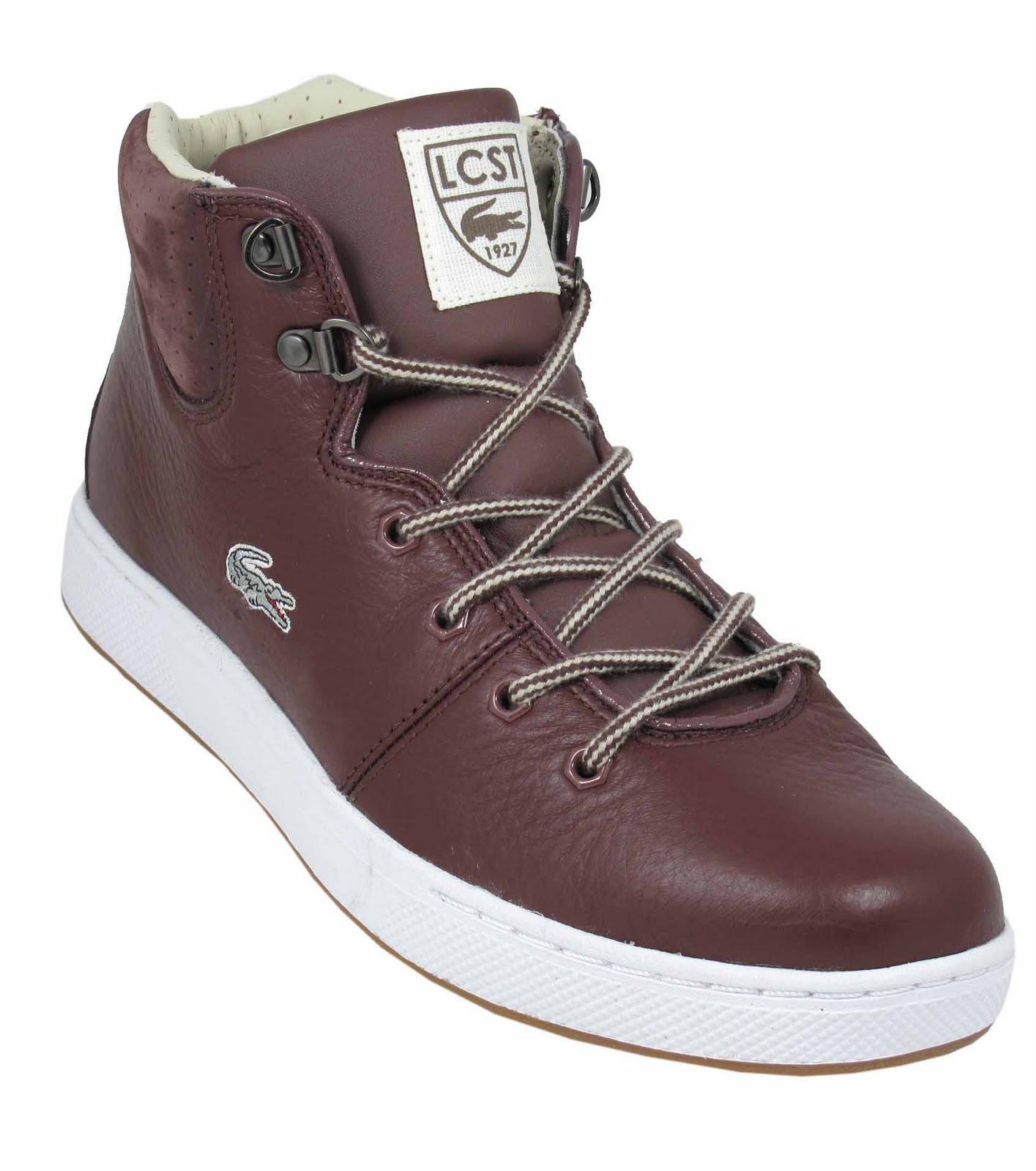 Original   Women39s  Lacoste Women39s Baylen Leather Faux Fur Winter Boots