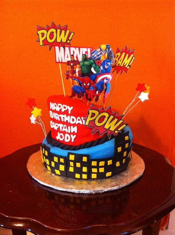 Marvel Avenger Cake Ideas 46938 Marvel Avengers Birthday C
