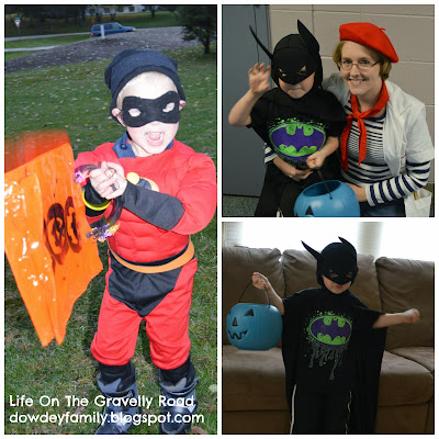 incredible and batman costumes