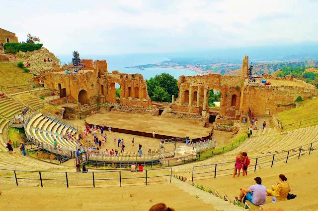 Teatro Antico, Mount Etna, Sicily