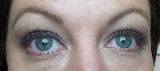 results picture of 100% Pure all natural blueberry mascara