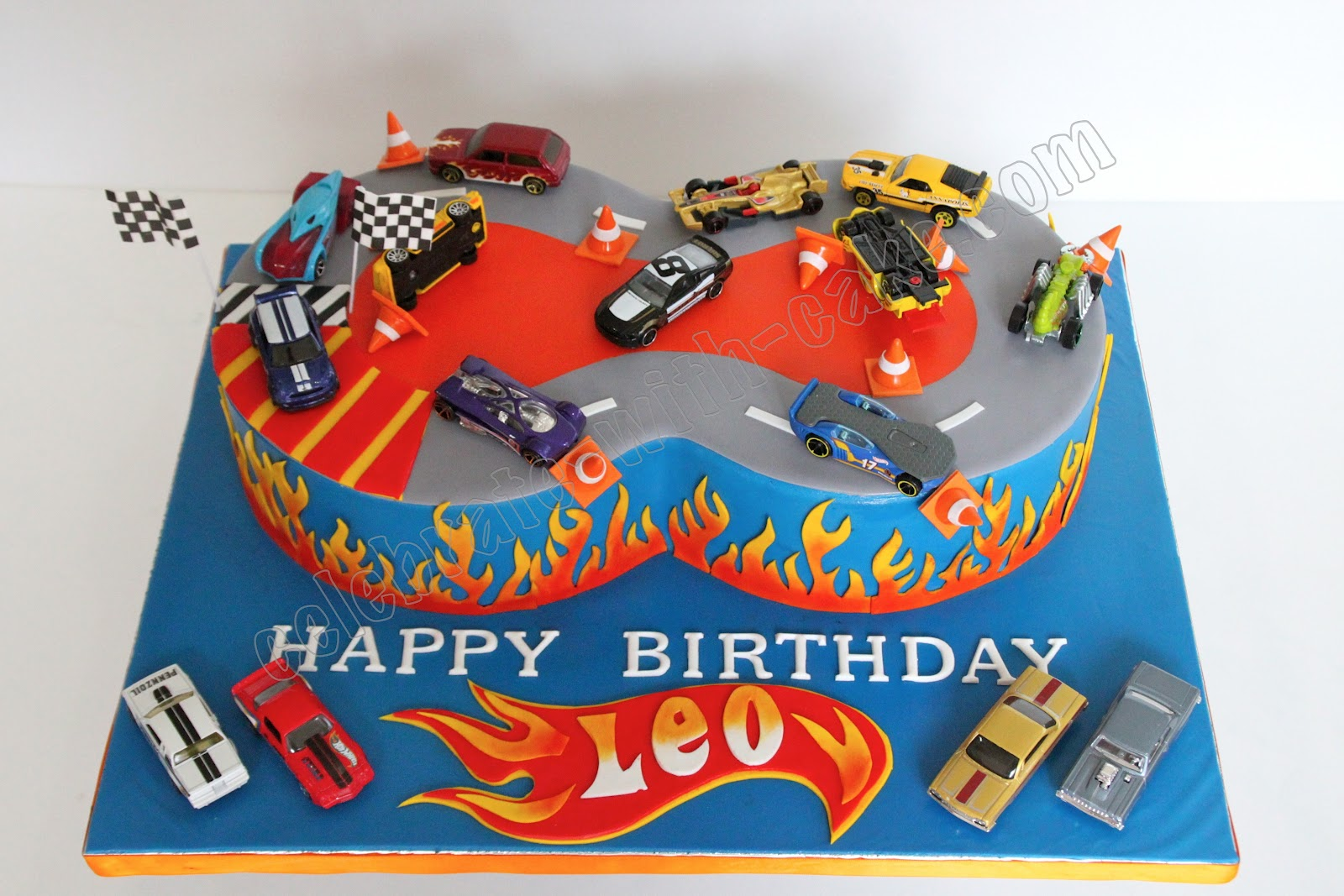 Hot Wheels Car Shape Balloons Tuning