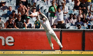 David Warner Catch
