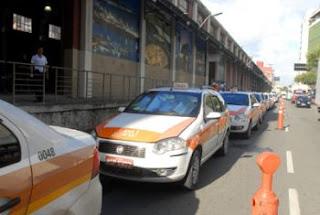 Pontos de táxi em Vitória ES