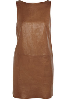 Brown Dress on Men Women Clothes  Brown Leather Dress