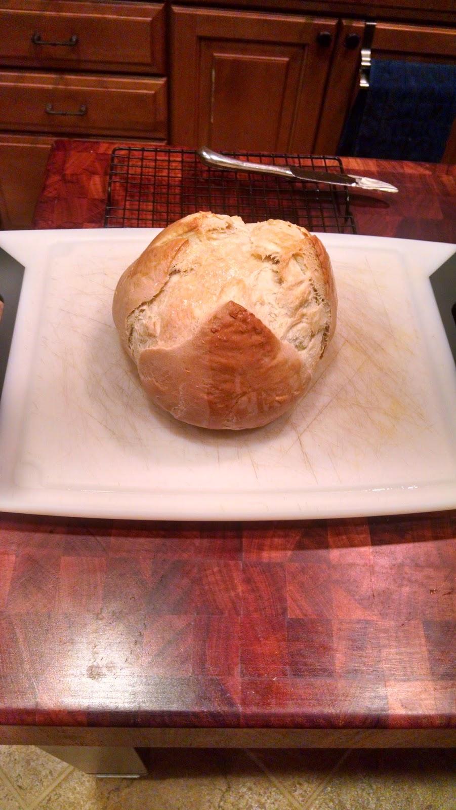 Fit Girl Fare Rustic White Bread