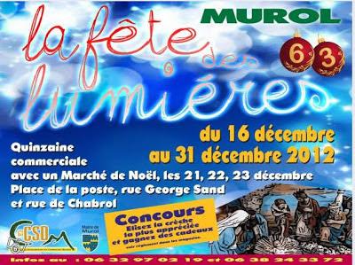 Marché de Noël 2012, Murol
