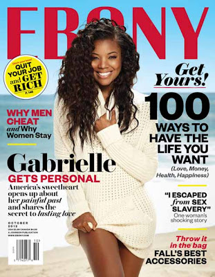 Gabrielle Union on Ebony Magazine Cover