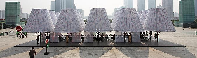 V i a mas efimera for Pabellones arquitectura efimera