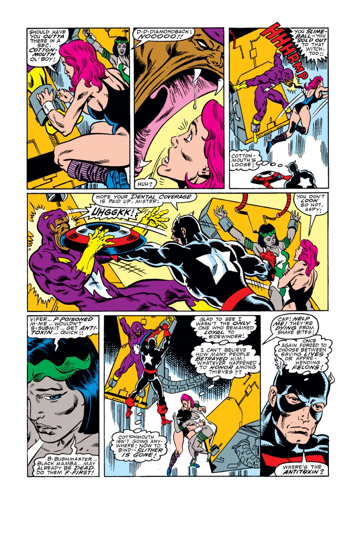 Captain America (1968) Issue #342 #272 - English 21