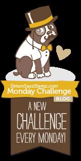 Simonnsaysstamp Monday challenge