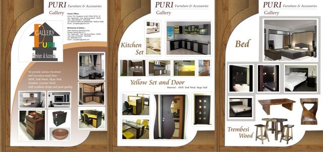 pixell design contoh design brosur