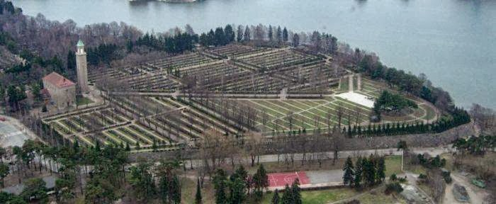Hietaniemi cemetery in Helsinki, Finland