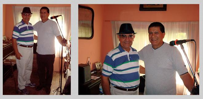 Con el querido Amigo Osvaldo Reneé Barreto