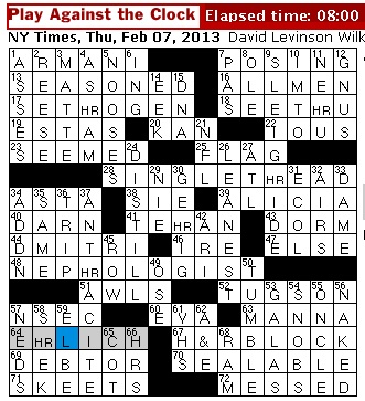 Rex Parker Does the NYT Crossword Puzzle: Bacteriologist Paul who