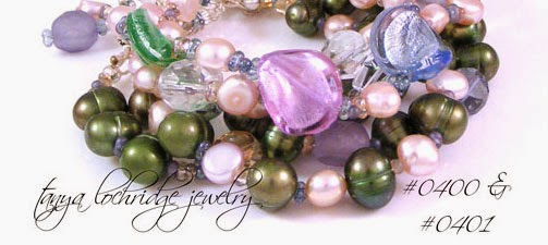 Tanya Lochridge Jewelry Sea Glass Pearl Sterling Silver Bracelet