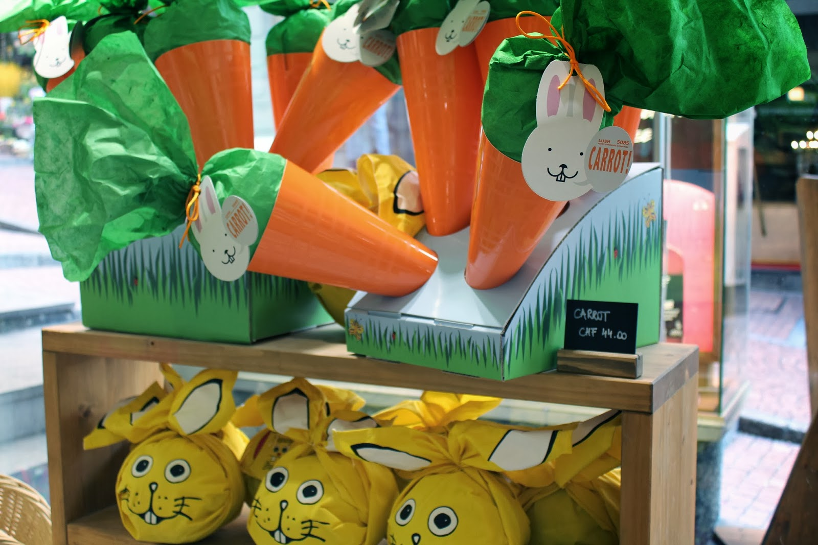 My sweet valentine have a great easter with lush a selection of easter gift sets are also available at lush such as the big carrot and the yellow funny bunny all containing various easter products negle Images