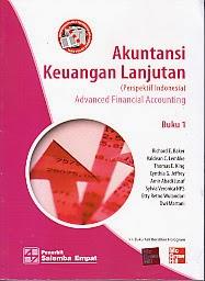 toko buku rahma : buku akuntansi keuangan lanjutan, pengarang Richardd E. Baker, Penerbit Salemba Empat
