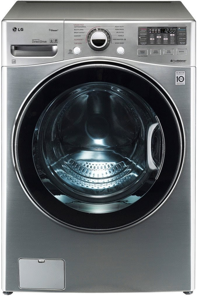 Lovely Washer Dryer In One Part - 8: LG WM3470 4.0 CF Ultra Large Capacity TurboWash With Steam Technology