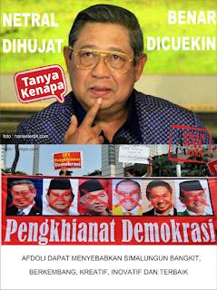 Ngenesnya Perasaan SBY selaku mantan Presiden