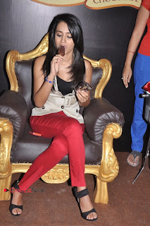 Trisha Latest Pictures in Red Jeans at Magnum Ice Cream New Outlet Launches at Express Avenue Mall, Chennai  0005