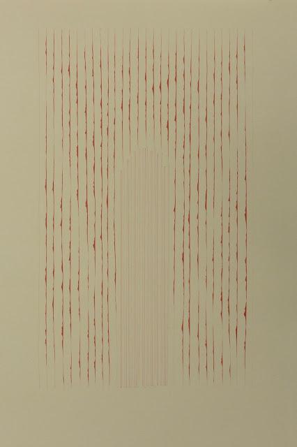 "Killscrow, Lana Fee Rasmussen drawing, Untitled 15""x22"""