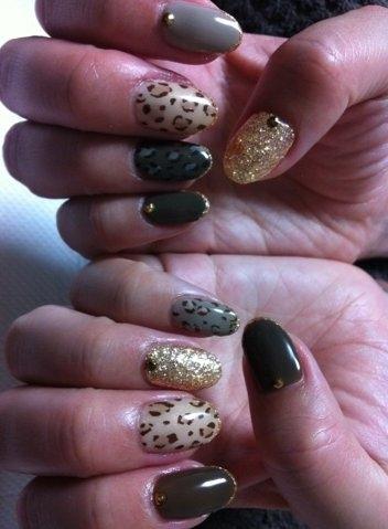 nail art nail Unhas Decoradas Arte e Idéias para o Inverno 2013