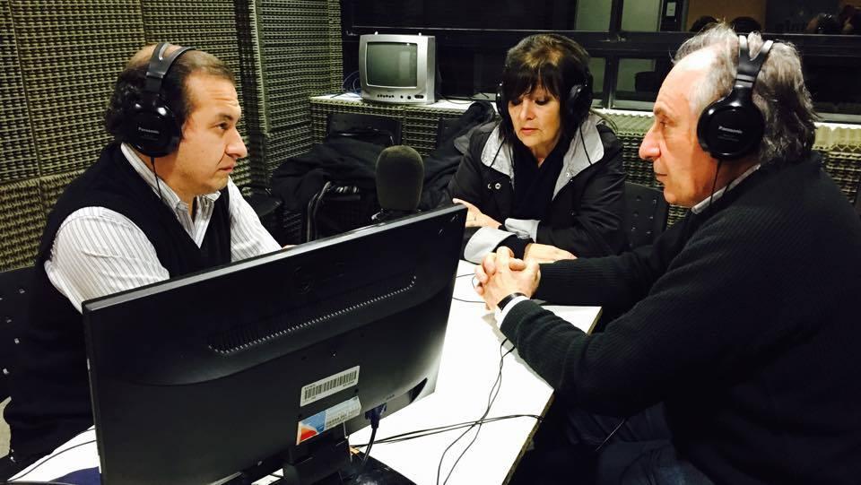 Con Graciela Puccia y Alberto Damián